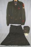Very Rare Pre/Early WW2 Period Ladies American Red Cross Motor Service 3pc Uniform