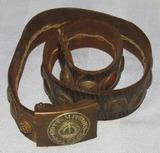 WW1 German Soldier Leather Souvenir/