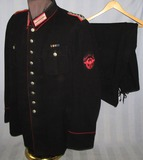 WW2 German Fire Police Tunic/Breeches For Rank Of Meister