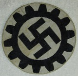 Bevo Embroidered DAF Sports Shirt Insignia