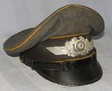 Luftwaffe Enlisted Visor For Flight/Paratroops-Combat Worn-Robert Lubstein 1938