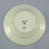 1937 dated Porcelain Soup Bowl With Political Eagle