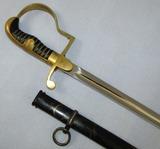 Pre/Early WW2 German NCO Dove Head Sword With Scabbard-Eickhorn Double Oval TM