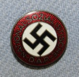Scarce Lapel Button Hole NSDAP Party Pin-RZM M1/72- Zimmermann