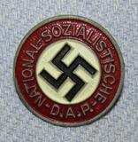 Zinc Alloy Painted Version NSDAP Party Pin-M1/17 For Assmann