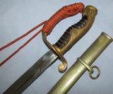 WW2 Japanese Police Officer's Sword For Higher Ranks-Family Crest