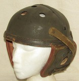 Scarce WWII Period U.S. Army M38 Tank Crew Helmet-Sears Saddlery Co. Size 7-1/8