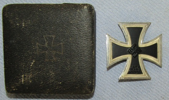 Iron Cross 1st Class W/Issue Case-Steinhauer & Luck