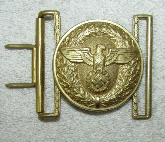 Political Leader Belt Buckle With Keeper-RZM M4/27 Maker