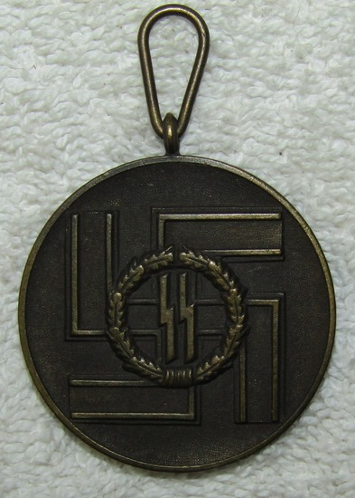 Rare Waffen SS 8 Year Service Medal
