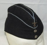 DAF Overseas Cap-Scarce Variant With Metal Eagle Device-Interior Cloth RZM Label