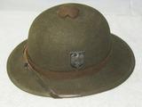 2nd Pattern Wehrmacht Tropical Pith Helmet-1942 Dated