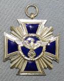 Scarce WW2 Period NSDAP 15yr Long Service Award Medal-C.E. Juncker