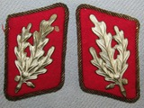 Rare Matching Pair SA Higher Ranks Collar Tabs For Rank Of Gruppenfuhrer