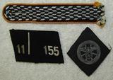 3pcs-WW2 Period NSKK Uniform Insignia