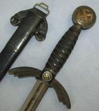 Early Nickel Model Luftwaffe Officer's Sword-Weyersberg