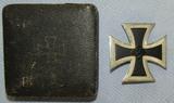 Iron Cross 1st Class W/Issue Case-Steinhauer & Luck