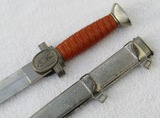WWII DRK (German Red Cross) Leader Dagger With Scabbard