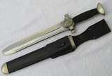 WWII DRK (German Red Cross) Enlisted Hewer With Scabbard/Leather Frog