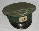 WW2 German Customs Official Visor Cap For Enlisted