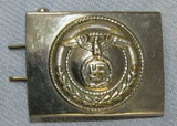 NSKK Motor School Personnel Belt Buckle-Plated Version