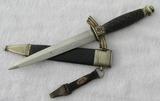WW2 U.S. Vet Bringback DLV/NSFK Dagger With Scabbard/Hanger