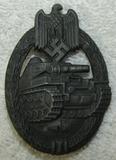 Panzer Assault Badge-Silver Grade-Frank & Reif