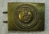 NSKK Motor School Personnel Belt Buckle-2 Piece Brass Finish Version