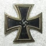 WW2 Iron Cross 1st Class-Klein & Quenzer