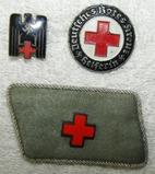 3pcs-WW2 Period DRK Insignia/Collar Tab