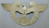 Nazi Police Shako Eagle-Maker Marked