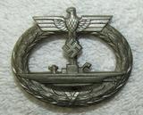 Mid War Kriegsmarine U-Boat Badge-L/56 Maker Marked