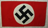 NSDAP Multi Piece Armband With Paper RZM Tag