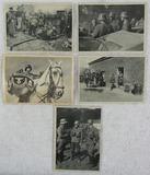 5pcs-Original Nazi SS Police Photo Post Cards