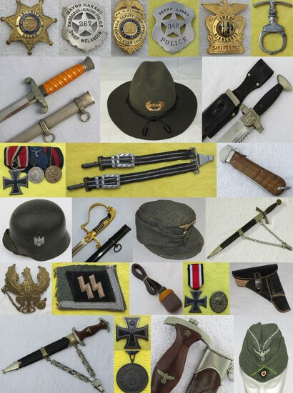 MILITARY COLLECTIBLES AUCTION APRIL,6 2021 5pm