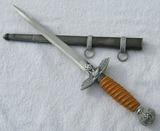 Luftwaffe Officer's 2nd Model Dagger W/Scabbard-SMF