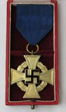 Cased 40yr Faithful Service Medal By Deschler & Sohn