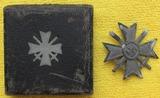 Cased War Merit Cross With Swords-Maker Stamped