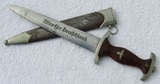 Early SA Dagger With Scabbard-Scarce Maker Of ED GEMBRUCH