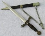 Early 1st Model Luftwaffe Officer's Dagger-F.A. Helbig-Unit Stamped Under Cross Guard