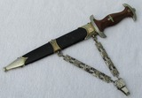 NSKK Chained Leader Dagger-Early Double Oval Eickhorn Logo-Ground Rohm Blade