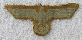 Uniform/Scrapbook Removed Wehrmacht Tropical/Afrika Korps Cap Eagle