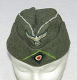 M40 Garrison Cap With Factory Applied GRENADIER Soutache/Piping-Field Applied Bullion Piping