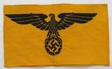 WW2 Period Bevo Embroidered State Service Armband