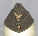 Luftwaffe Overseas Cap For Enlisted-Exhibits Moderate Field Wear