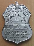 Rare 1953 EISENHOWER/NIXON Presidential Inauguration