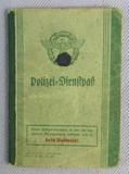 Scarce WW2 Nazi Police Work Booklet