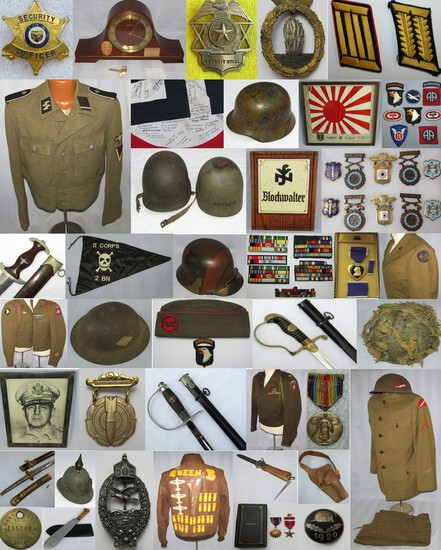 MILITARY COLLECTIBLES-THURSDAY JUNE,24 2021 4:30pm