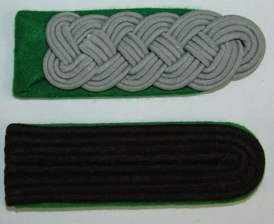 2pcs-WW2 German Police Shoulder Boards