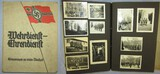 WW2 Wehrmacht Soldier Service Memory Photo Album-Named/Unit Marked